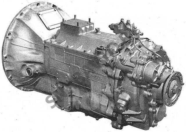 Схема устройства КПП МАЗ