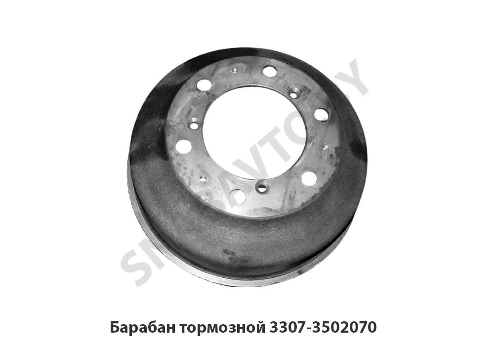 Барабан тормозной задний 3307/53