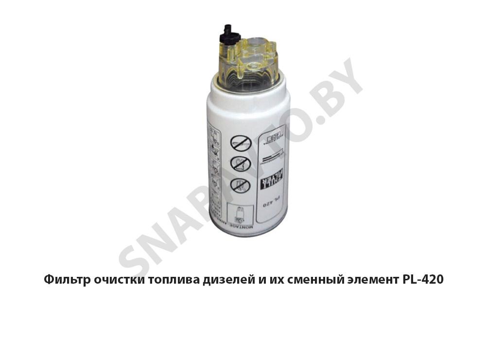Фильтр очистки топлива дизелей и их сменный элемент