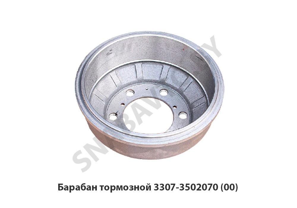 Барабан тормозной ГАЗ-3309 задн.