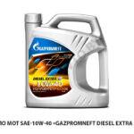 Масло мот SAE-10W-40 «Gazpromneft Diesel Extra » (5л)