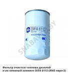 Фильтр очистки топлива дизелей и их сменный элемент  (ЯМЗ евро-3)